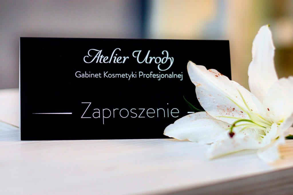 Zaproszenie Atelier Urody
